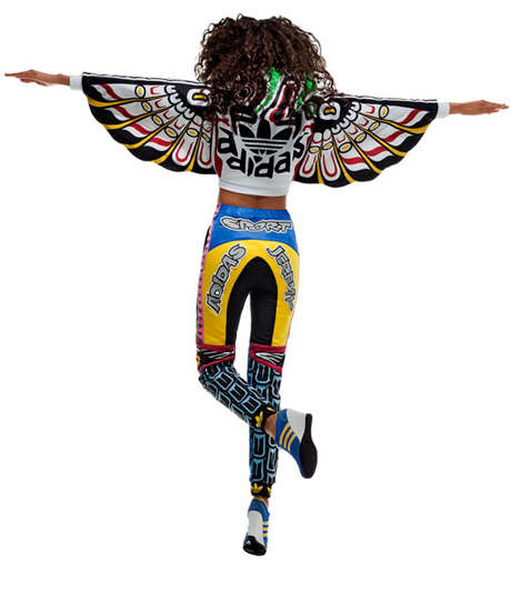 Bold Totem Apparel - The Adidas Original Jeremy Scott Line is Ingeniously Creative and Vibrant