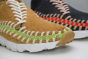 The Nike Footscape Woven Chukka Knit Look Exactly Like Baseballs