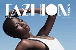 The FASHIONTREND 'Riviera' Photoshoot Stars Elizabeth Manyuon