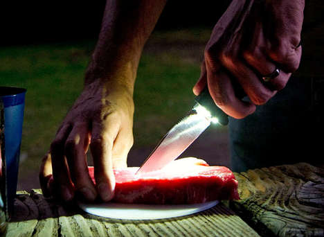 folding blade light