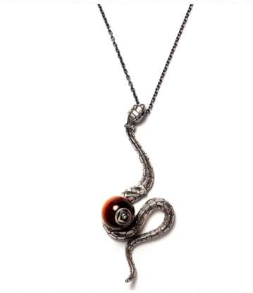 Zodiac Snake Necklace