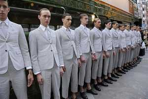 The Thom Browne Spring/Summer 2013 Collection is Warlike