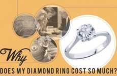 This Infographic Details the Process Behind the Cost of Diamond Rings