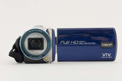 Android-Enabled Digital Cameras - New Cameras Have Wifi for Social Sharing and Detachable Lenses