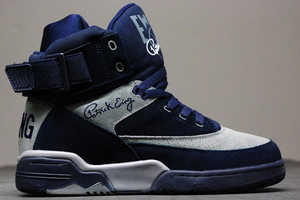 The Ewing 33 Hi Top Sneakers Return in his College Colorway