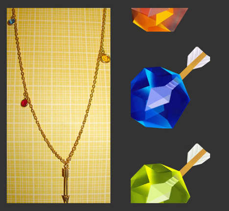 Geeky Gamer Jewels - This Legend of Zelda Jewelry Brings the Prizes of the Classic Game to Life
