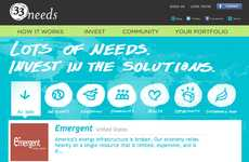 Crowdfunding for Social Start-ups - '33needs' is a Website Helping to Start Companies with Purpose