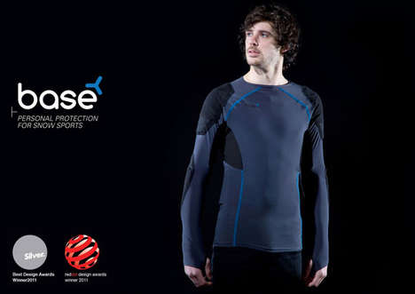 Amazing Armored Garments - The Base Impact Jersey Affords Lightweight Warmth and Injury Protection