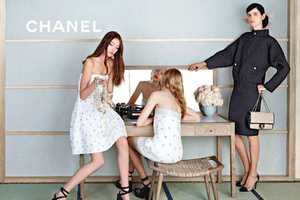 Look Summer-Ready for an Upscale Outing with the Chanel S/S 2013