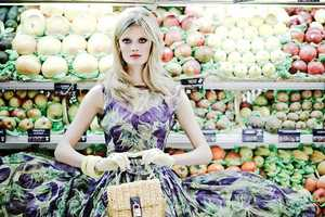 These Supermarket Fashion Features are Funky, Fresh and Realistic