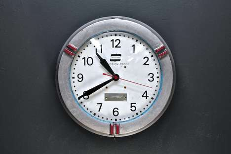 Vintage Explosion Proof Clocks