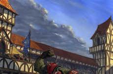 Fantasy Battlefield Art