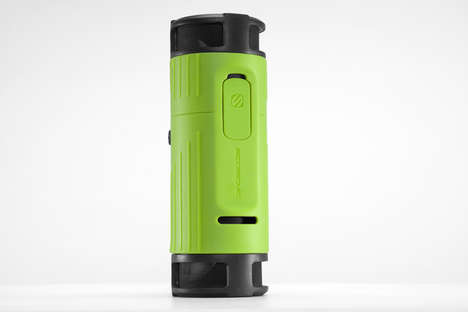 Bass-Blasting Water Bottles - Scosche Unveils Combination Waterbottle/Boombox at CES