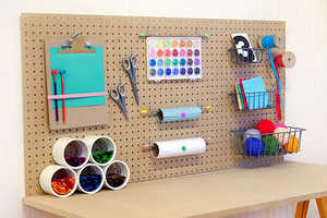 This DIY Project Organizes Arts and Crafts Time for Under $50