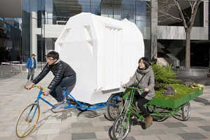 The Tricycle House is a Minimal and Mobile Unit for Living
