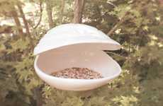Marvelous Mollusk Bird Feeders