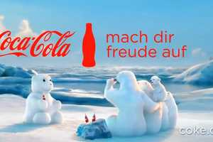 The Coca-Cola Polar Bears Create a Snowman Polar Bear In This New Ad