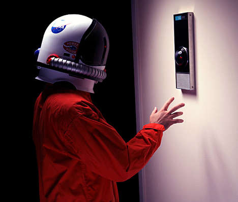Psychotic Computer Replicas - The HAL 9000 Replica Will Add a Creepy Sci-Fi Touch to Any Room