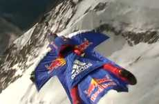 Mountainous Flying Stunts