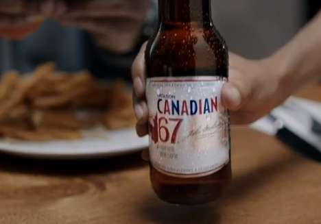 Masculine Diet-Assisting Ads - Molson Canadian 67 Positions Itself as the Beer for Guys on Diets