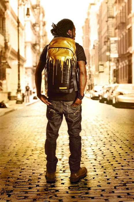 Sprayground Gold Drips
