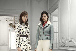 Chloé Pre-Fall 2013 Inspired by 60s Mod Chicks