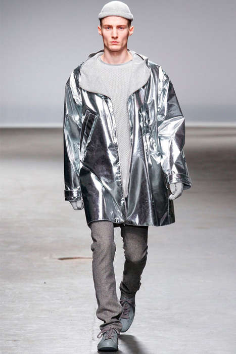 12 London Fashion Week Menswear Features - These Autumn/Winter 2013 Lines are Daring and Dapper