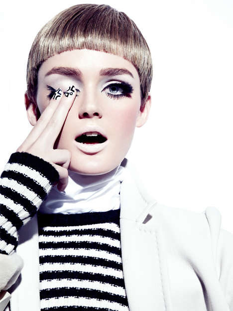Tantalizing Twiggy Editorials