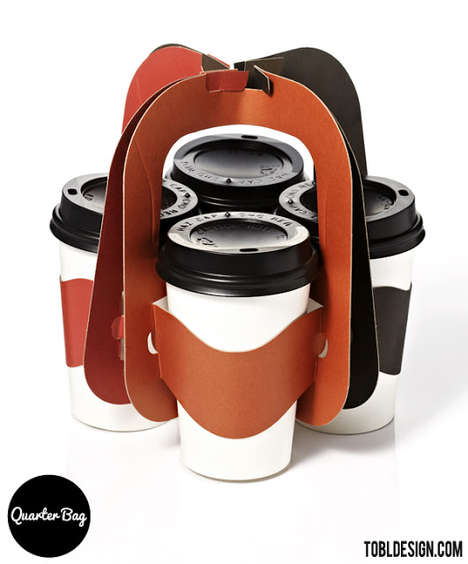 Quarter Bag Cup Carrier