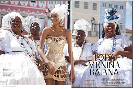 Brazilian Alabaster Fashion - The L'Officiel Netherlands
