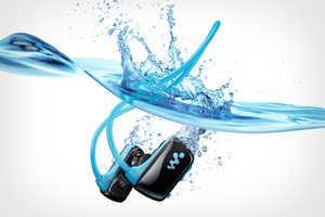 The Sony Sports W Series Waterproof MP3 Will Blow You Out of the Water