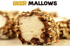 Boozy Fluffy Confections - Beer-flavored Marshmallows Will Take Your Tastebuds on a Coaster Ride