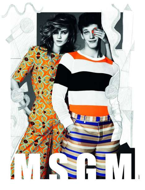 MSGM Spring/Summer 2013