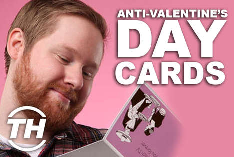 Anti-Valentine's Day Cards - Courtney Scharf Reveals Her Favorite Holiday-Hating Greeting Card