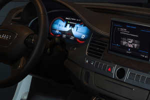 The Audi OLED Lighting Display Debuts at CES 2013