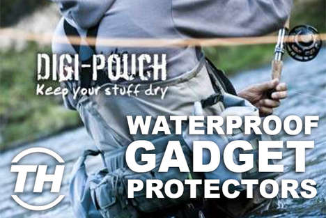 Waterproof Gadget Protectors - Jamie Munro Reveals Wonderful Waterproof Electronics
