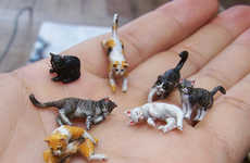 Aurora Model Releases Tiny Cat Sculptures