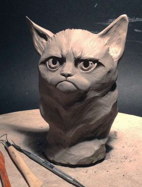grumpy cat art