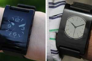 The Pebble Watch Connects Wirelessly to Smartphones