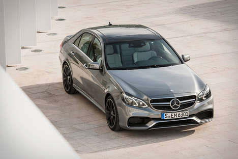 Speedy Spacious Sedans - The Mercedes-Benz E63 AMG 4Matic has Power, Class & Room to Spare