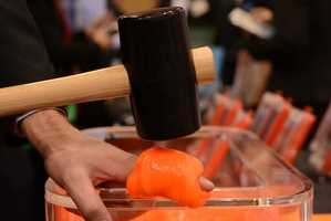 New Impact-Absorbing Substance Protects Phones and Fingers Shown at CES 2013