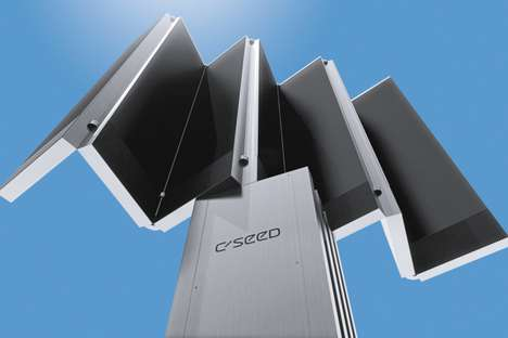 Accordion Outdoor TVs - The C Seed 201 Rises Out of Your Deck for a Dazzling Diversion