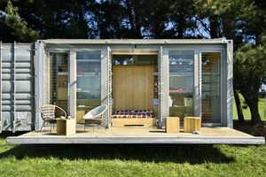 The Port-a-Bach Container Home Provides Freedom of Movement