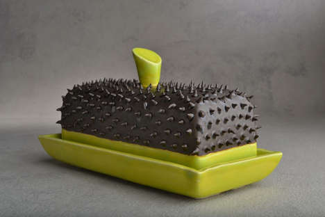 Spiked Butter Dish