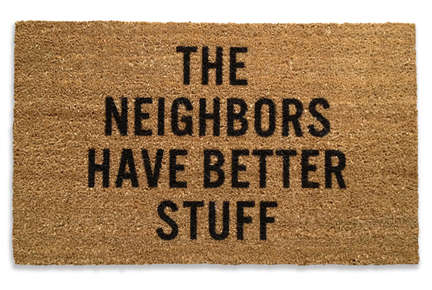 Punchy Coco-Fiber Doormats - Sustainable Company Reed Wilson Design Has a Sense of Humor