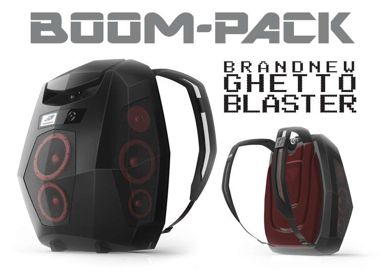 Ghetto Blaster Backpacks