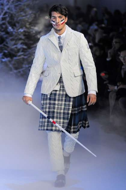 moncler gamme bleu f/w 2013
