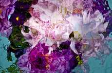Surreal Submerged Bouquet Photography - The Gilles Bensimon Watercolor Series Almost Looks Painted