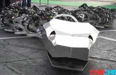 Giant Robotic Cobras
