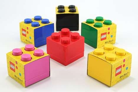 Building Block Containers - The LEGO Mini Box 4 is Great for Gift Giving and Keepsakes